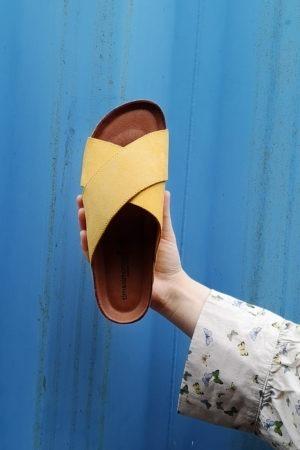 Yellow sandal from Tim&Simonsen
