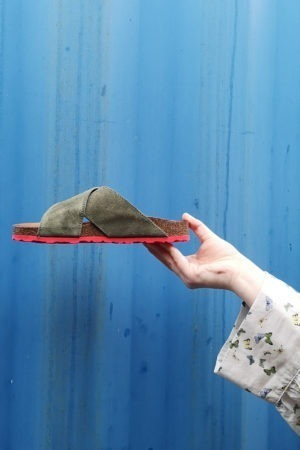 Army-green sandal from Tim&Simonsen