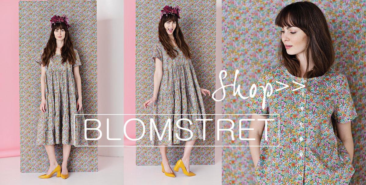 find blomstrede kjoler