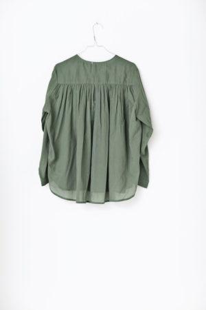 Green cotton shirt Zen Ethic