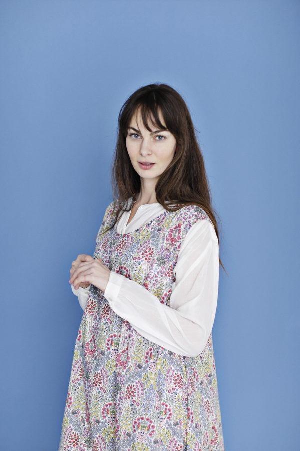 Hvid bomuldsskjorte fra Zen Ethic